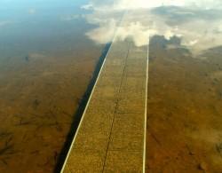 Uimalaituri veden alla, leveys 85 cm